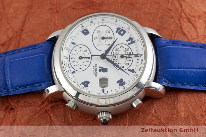 gebrauchte Luxusuhr Audemars Piguet Millenary Chronograph Stahl Automatik Kal. 2226 Ref. 25822ST  | 2002772 _0