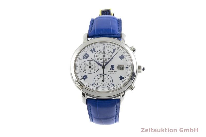 gebrauchte Luxusuhr Audemars Piguet Millenary Chronograph Stahl Automatik Kal. 2226 Ref. 25822ST  | 2002772 _1
