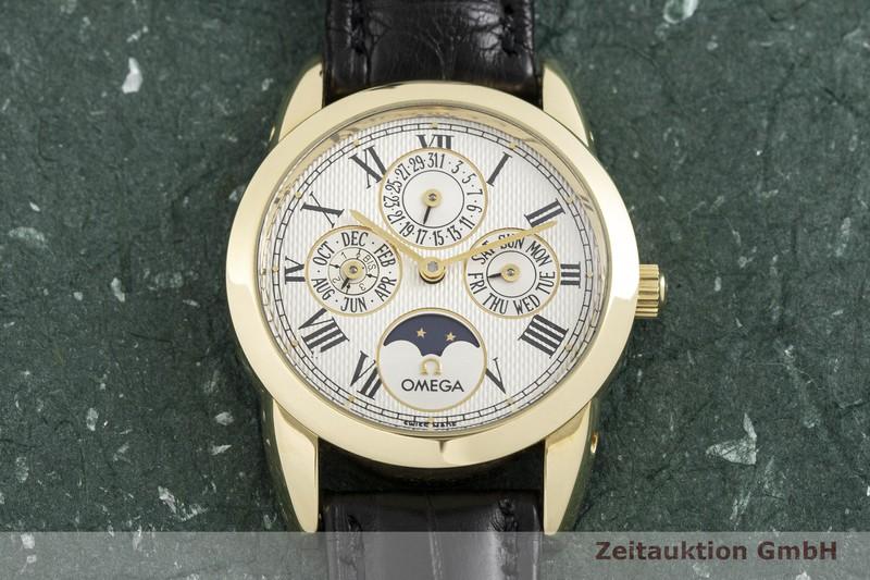 gebrauchte Luxusuhr Omega Louis Brandt 18k Gold Automatik Kal. 1116, ETA 2890-9 Ref. 1750300  | 2002773 _1