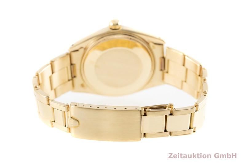 gebrauchte Luxusuhr Rolex Date 18k Gold Automatik Kal. 1570 Ref. 1503    2002774 _1