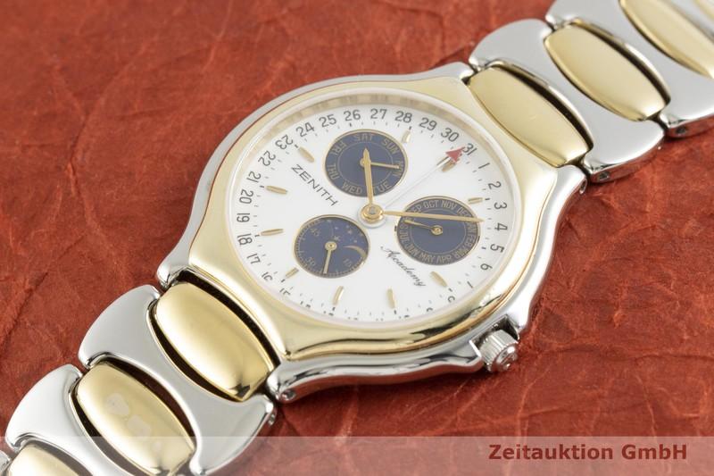 gebrauchte Luxusuhr Zenith Academy Stahl / Gold Quarz Kal. 39.3, ETA 255.483 Ref. 59.6000.393  | 2002775 _0