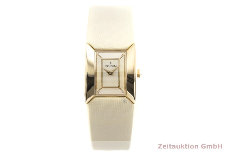 gebrauchte Luxusuhr Corum Butterfly 18k Gold Quarz Kal. ETA E01001 Ref. 137.640.56  | 2002788 _1