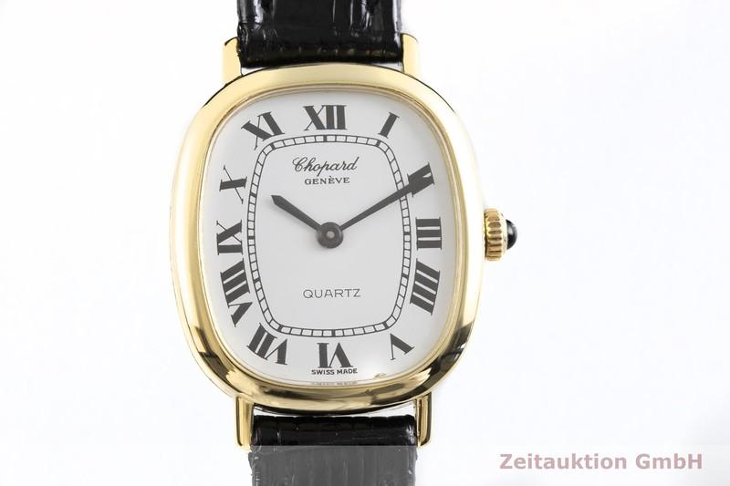 gebrauchte Luxusuhr Chopard Geneve 18k Gold Quarz Kal. ESA 950.001 Ref. 5124  | 2002790 _0