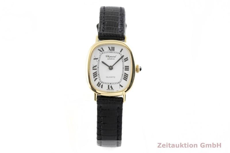 gebrauchte Luxusuhr Chopard Geneve 18k Gold Quarz Kal. ESA 950.001 Ref. 5124  | 2002790 _1