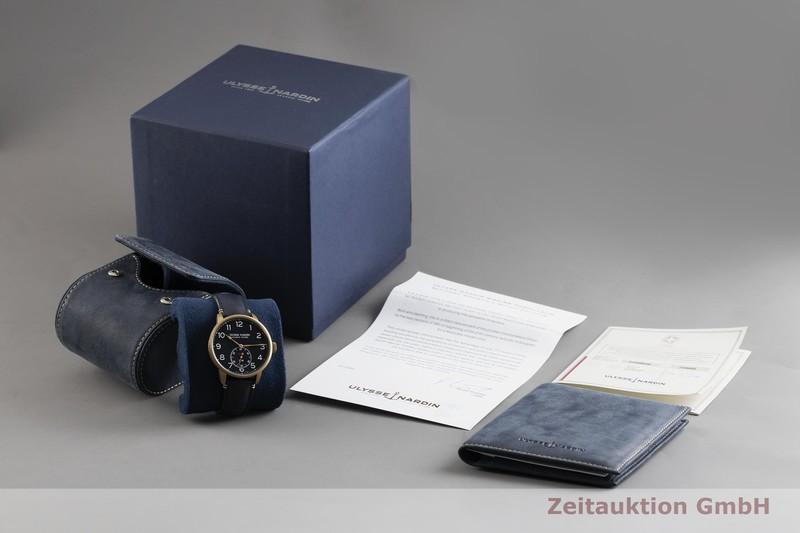 gebrauchte Luxusuhr Ulysse Nardin Marine Torpilleur Stahl / Bronze Automatik Kal. UN118 Ref. 1187-320 LIMITED EDITION | 2002797 _0