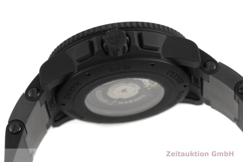 gebrauchte Luxusuhr Ulysse Nardin Diver Chronograph Stahl / Kautschuk Automatik Kal. UN-35, ETA 2892-A2 Ref. 353-92    2002798 _0