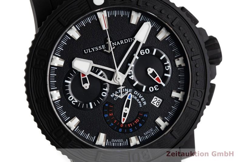 gebrauchte Luxusuhr Ulysse Nardin Diver Chronograph Stahl / Kautschuk Automatik Kal. UN035, ETA 2892-A2 Ref. 353-92  | 2002799 _0