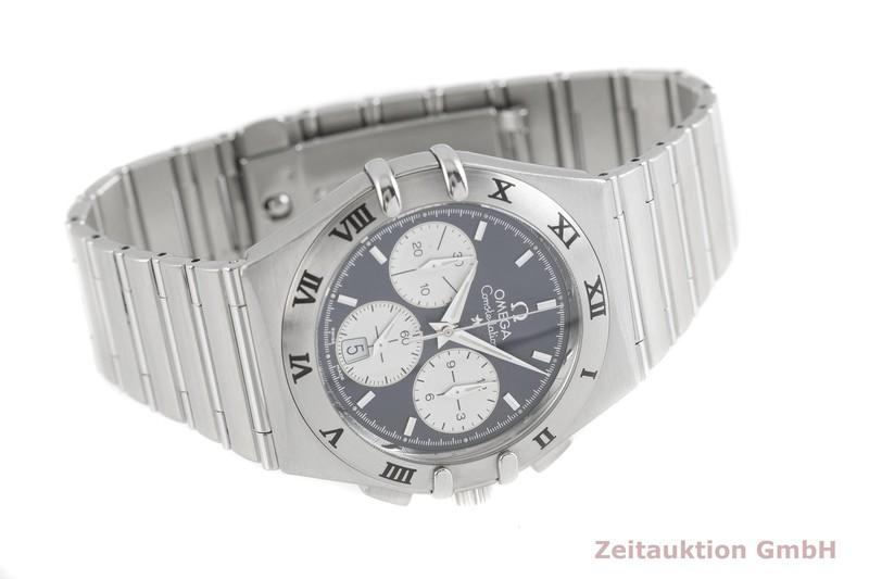 gebrauchte Luxusuhr Omega Constellation Chronograph Stahl Quarz Kal. 1270 Ref. 15424000  | 2002805 _0