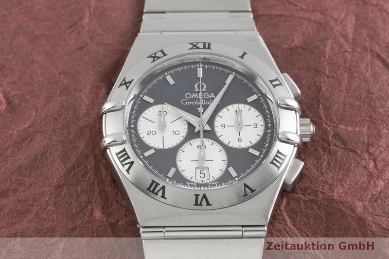 gebrauchte Luxusuhr Omega Constellation Chronograph Stahl Quarz Kal. 1270 Ref. 15424000  | 2002805 _1
