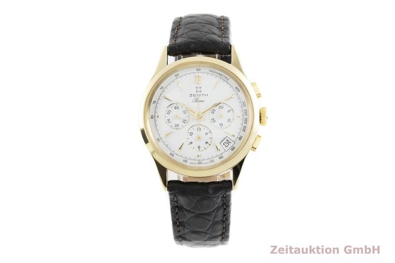 gebrauchte Luxusuhr Zenith Prime Chronograph Stahl vergoldet Handaufzug Kal. 420 Ref. 20-0010.420  | 2002815 _1