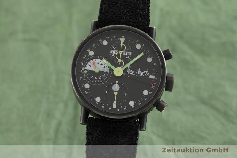 gebrauchte Luxusuhr Alain Silberstein Krono Chronograph Stahl Handaufzug Kal. Valjoux 7761  | 2002818 _0