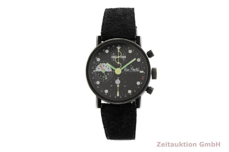 gebrauchte Luxusuhr Alain Silberstein Krono Chronograph Stahl Handaufzug Kal. Valjoux 7761  | 2002818 _1