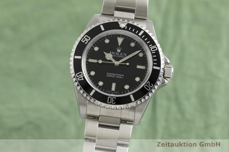 gebrauchte Luxusuhr Rolex Submariner Stahl Automatik Kal. 3000 Ref. 14060  | 2002825 _0