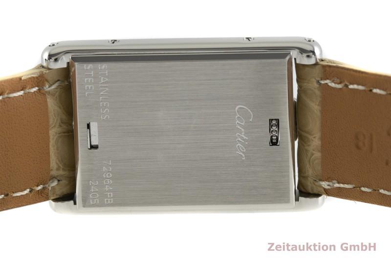 gebrauchte Luxusuhr Cartier Tank Stahl Quarz Kal. 059 Ref. 2405  | 2002830 _0