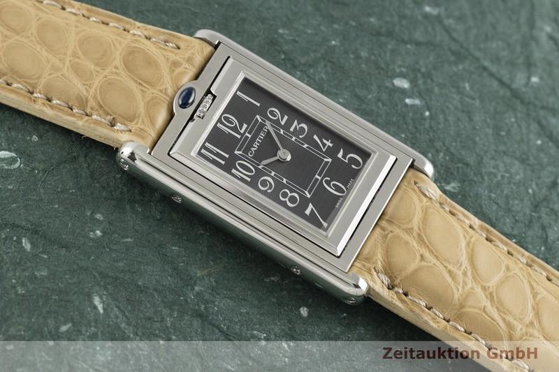 gebrauchte Luxusuhr Cartier Tank Stahl Quarz Kal. 059 Ref. 2405  | 2002830 _1