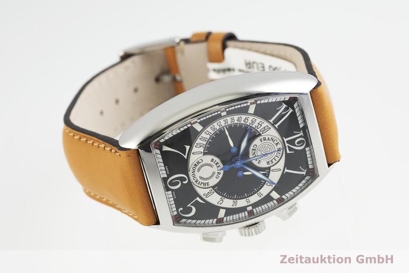 gebrauchte Luxusuhr Franck Muller Chronobiretro Chronograph Stahl Automatik Kal. FM 7000B Ref. 7850CCB  | 2002832 _0