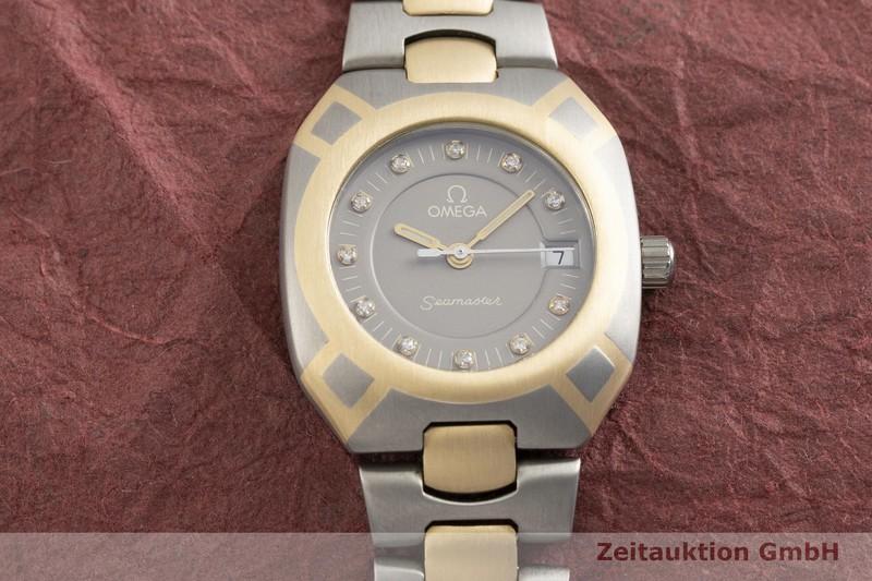 gebrauchte Luxusuhr Omega Seamaster Titan / Gold Quarz Kal. 1426, ETA 256.111 Ref. 596.0060, 796.0855  | 2002853 _1