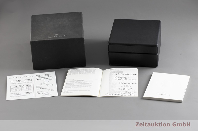 gebrauchte Luxusuhr Blancpain Air Command Chronograph Stahl Automatik Kal. F185 Ref. 2285F.653066  | 2002860 _0