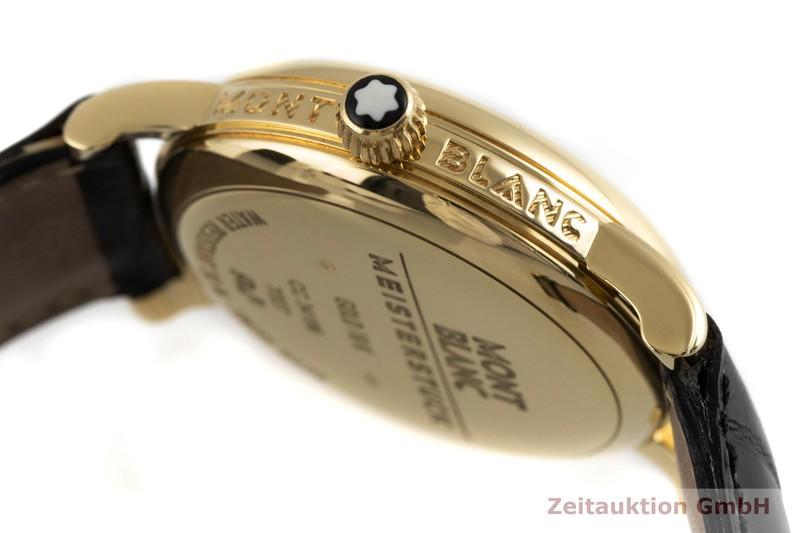 gebrauchte Luxusuhr Montblanc Meisterstück 18k Gold Handaufzug Kal. 4810.901, ETA 7001 Ref. 7007  | 2002867 _0