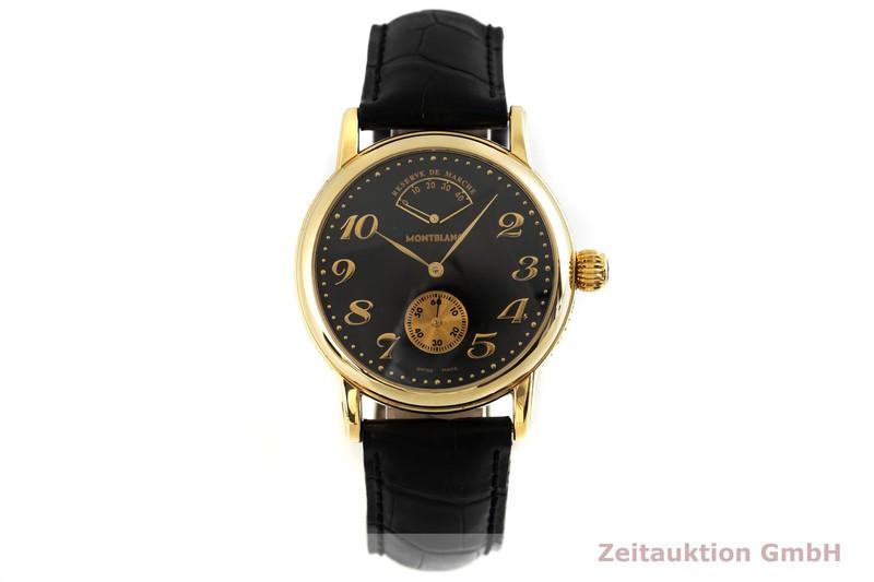 gebrauchte Luxusuhr Montblanc Meisterstück 18k Gold Handaufzug Kal. 4810.901, ETA 7001 Ref. 7007  | 2002867 _1