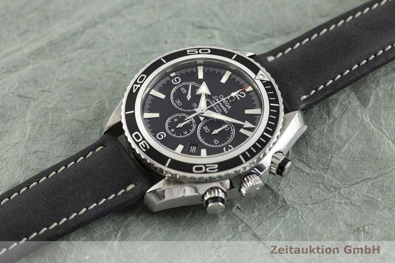 gebrauchte Luxusuhr Omega Seamaster Chronograph Stahl Automatik Kal. 3313 Ref. 178.1650  | 2002870 _0