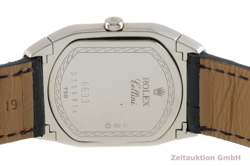 gebrauchte Luxusuhr Rolex Cellini 18k Weissgold Quarz Kal. 6621 Ref. 6633/9  | 2002871 _0