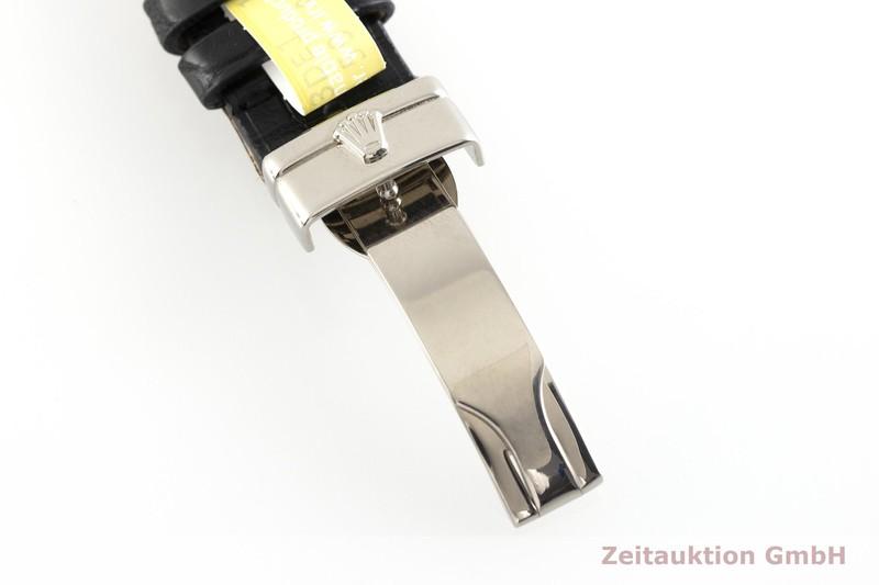 gebrauchte Luxusuhr Rolex Cellini 18k Weissgold Quarz Kal. 6621 Ref. 6633/9    2002871 _0