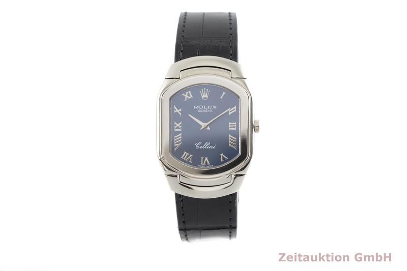 gebrauchte Luxusuhr Rolex Cellini 18k Weissgold Quarz Kal. 6621 Ref. 6633/9    2002871 _1