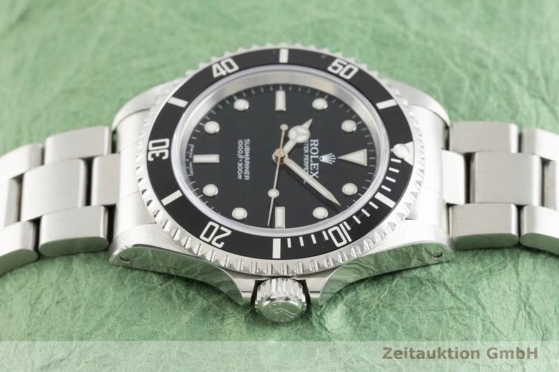 gebrauchte Luxusuhr Rolex Submariner Stahl Automatik Kal. 3130 Ref. 14060M    2002875 _0