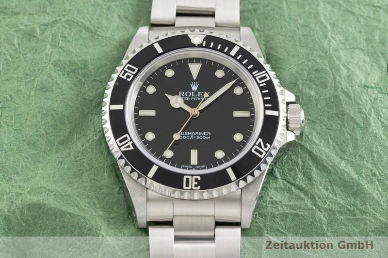 gebrauchte Luxusuhr Rolex Submariner Stahl Automatik Kal. 3130 Ref. 14060M    2002875 _1