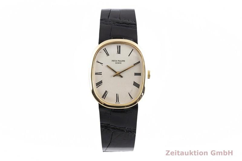 gebrauchte Luxusuhr Patek Philippe Ellipse 18k Gold Handaufzug Kal. 23-300 Ref. 3548 VINTAGE  | 2002883 _1