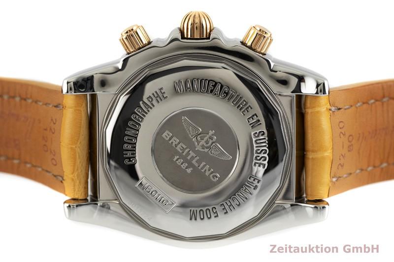 gebrauchte Luxusuhr Breitling Chronomat 44 Chronograph Stahl / Gold Automatik Kal. B01 Ref. IB0110    2002885 _0