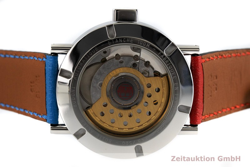 gebrauchte Luxusuhr Alain Silberstein Bodoni Stahl Automatik Kal. 1993 LIMITED EDITION | 2002886 _0