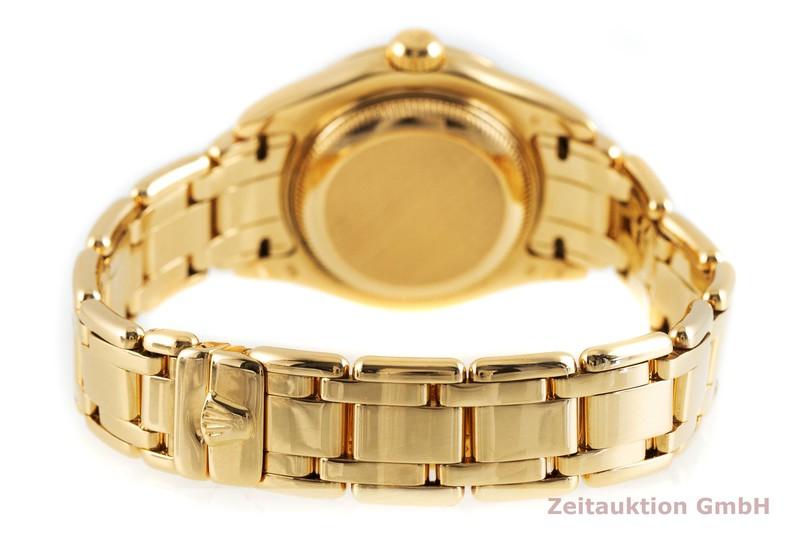 gebrauchte Luxusuhr Rolex Datejust 18k Gold Automatik Kal. 2135 Ref. 69318  | 2002889 _1