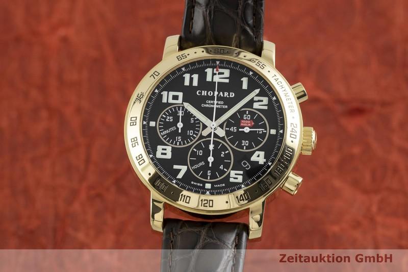 gebrauchte Luxusuhr Chopard Mille Miglia Chronograph 18k Gold Automatik Kal. ETA 2894-2 Ref. 1254 LIMITED EDITION | 2002901 _0