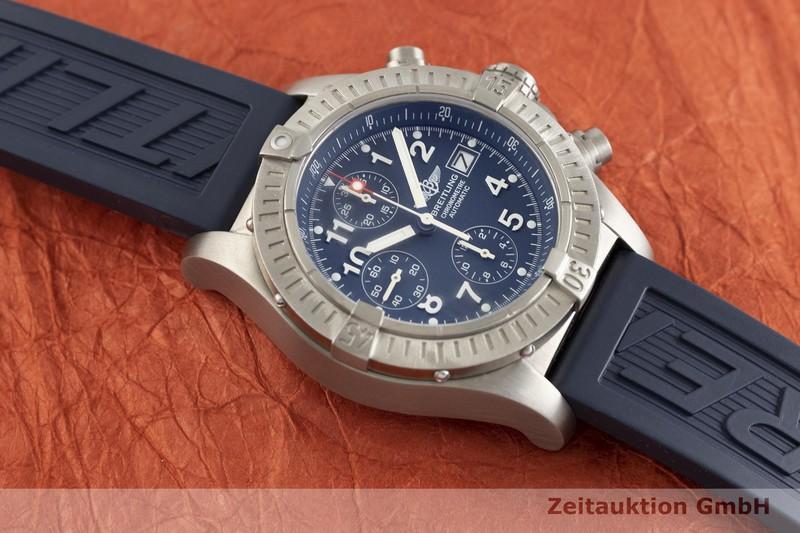gebrauchte Luxusuhr Breitling Avenger Chronograph Titan Automatik Kal. B13, ETA 7750 Ref. E13360  | 2002902 _1