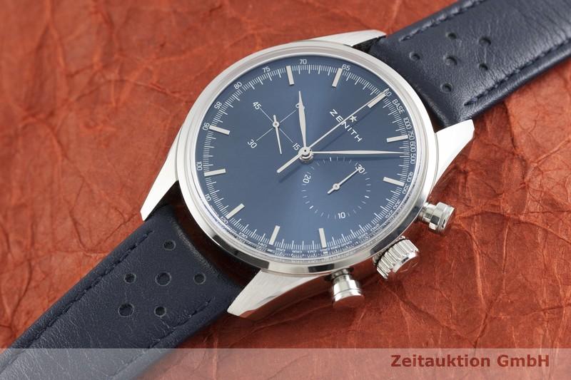 gebrauchte Luxusuhr Zenith Chronomaster Chronograph Stahl Automatik Kal. 4069 Ref. 03.2150.4069  | 2002906 _0
