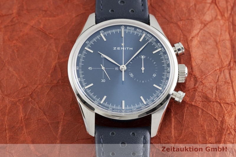 gebrauchte Luxusuhr Zenith Chronomaster Chronograph Stahl Automatik Kal. 4069 Ref. 03.2150.4069  | 2002906 _1
