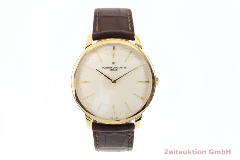 gebrauchte Luxusuhr Vacheron & Constantin Patrimony 18k Gold Handaufzug Kal. 1400 Ref. 81180  | 2002920 _1