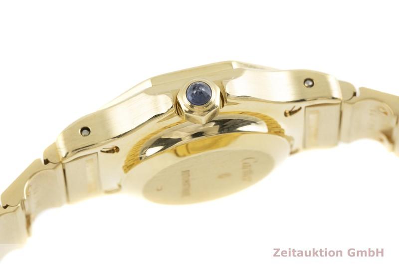 gebrauchte Luxusuhr Cartier Santos 18k Gold Automatik Kal. ETA 2670  | 2002922 _1