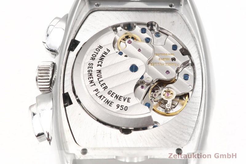 gebrauchte Luxusuhr Franck Muller Conquistador Chronograph Stahl Automatik Kal. 1185Co2 Ref. 8005.CC  | 2002930 _0