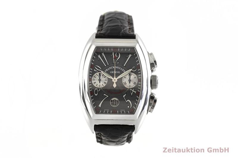 gebrauchte Luxusuhr Franck Muller Conquistador Chronograph Stahl Automatik Kal. 1185Co2 Ref. 8005.CC  | 2002930 _1