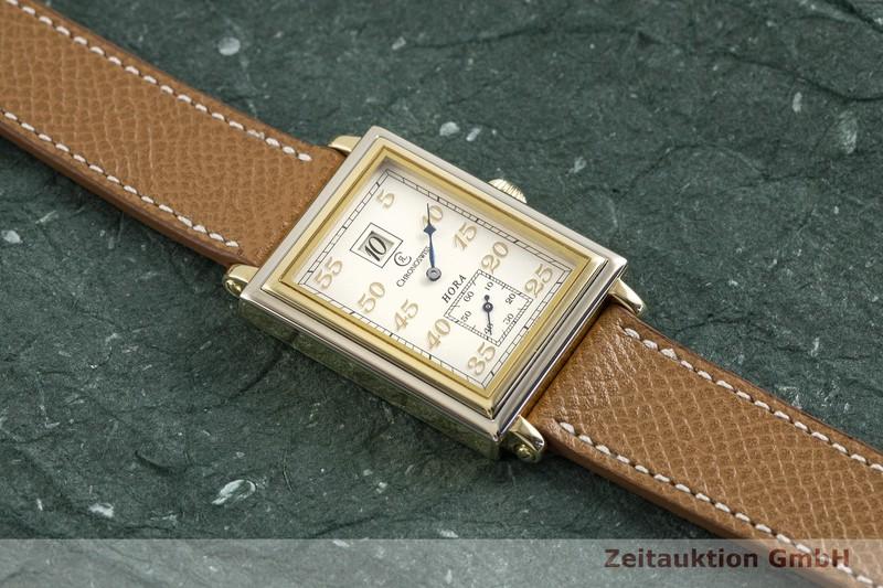 gebrauchte Luxusuhr Chronoswiss Hora 18k Gold Handaufzug Kal. FEF 130 Ref. CH1351 LIMITED EDITION | 2002937 _1