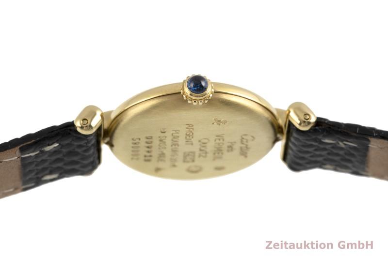 gebrauchte Luxusuhr Cartier Vermeil Silber vergoldet Quarz Kal. 90 Ref. 590002  | 2002950 _0