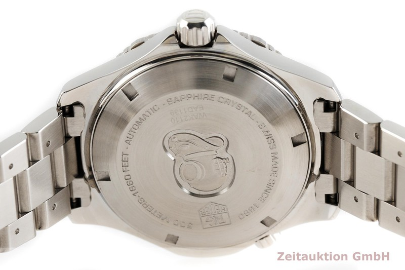 gebrauchte Luxusuhr Tag Heuer Aquaracer Stahl Automatik Kal. 5, SW 200-1 Ref. WAK2110  | 2002951 _0