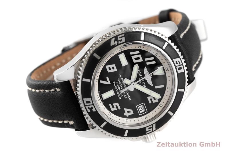 gebrauchte Luxusuhr Breitling Superocean Stahl Automatik Kal. B17, ETA 2824-2 Ref. A17364  | 2002952 _0