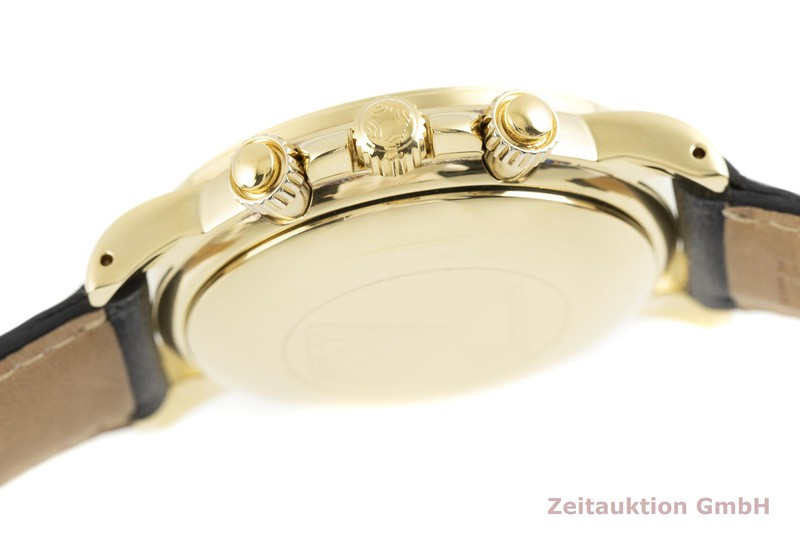 gebrauchte Luxusuhr Zenith El Primero Chronograph 18k Gold Automatik Kal. 400 Ref. 30.0360.400    2002958 _1