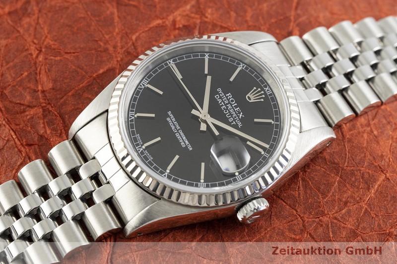 gebrauchte Luxusuhr Rolex Datejust Stahl / Weissgold Automatik Kal. 3135 Ref. 16234  | 2002968 _0