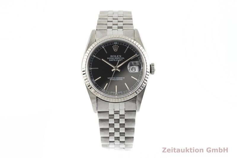 gebrauchte Luxusuhr Rolex Datejust Stahl / Weissgold Automatik Kal. 3135 Ref. 16234  | 2002968 _1