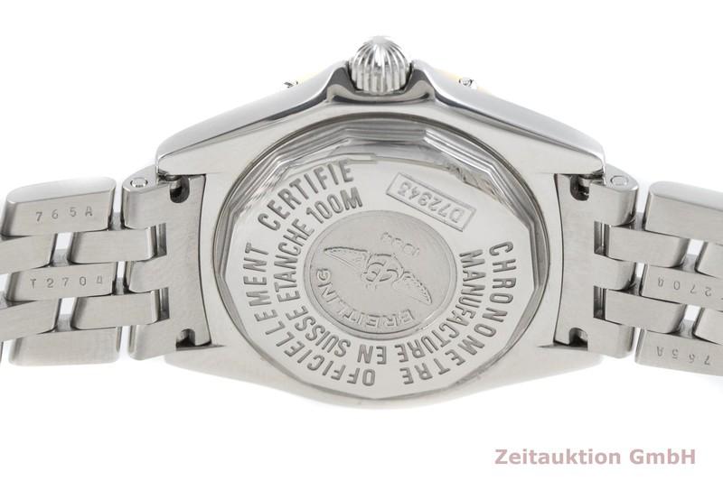 gebrauchte Luxusuhr Breitling Callistino Stahl / Gold Quarz Kal. B72, ETA 956.152 Ref. D72345  | 2002984 _0